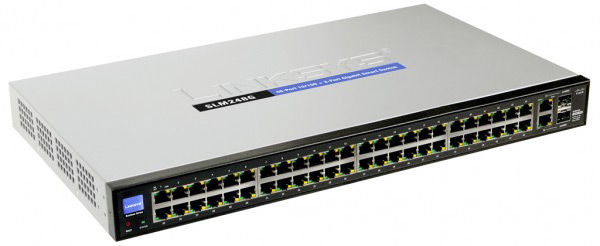 Cisco SLM248G 48-port Gigabit Smart Ethernet Switch